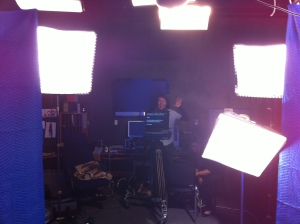 In Studio Under The Lights