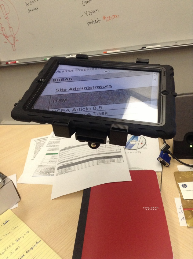 iPad Doc Cam
