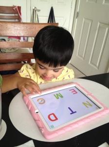 iPad Alphabet