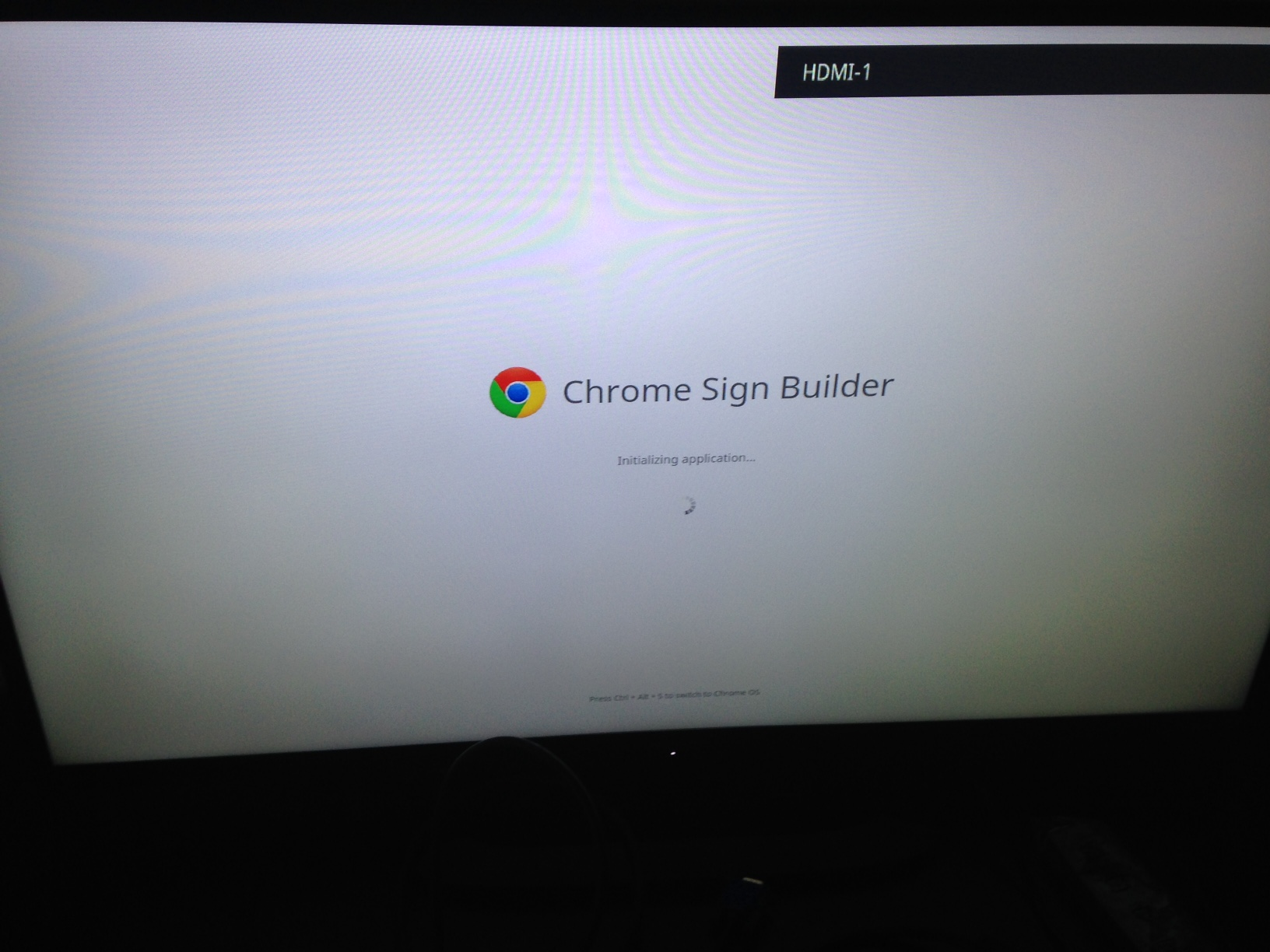 Chrome Sign Builder – Poor Man's Digital Signage | There is no box