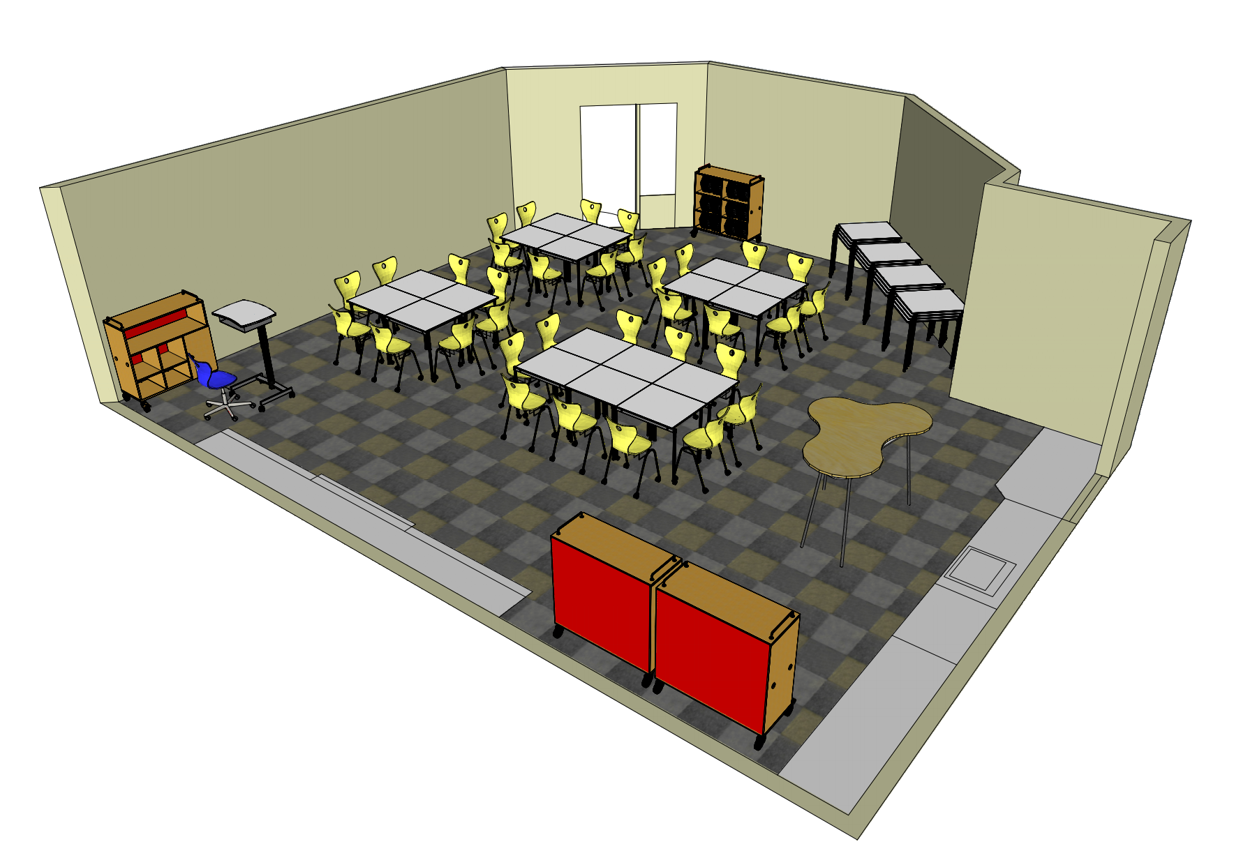 Making A Small Room Look Bigger Future Ready Flexible Classrooms There Is No Box
